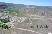 75.41 acres - Hillside Residential within the city limits of Caliente, NV with views south into Rainbow Canyon on the Conaway Ranch, 150 miles NE of Las Vegas, NV